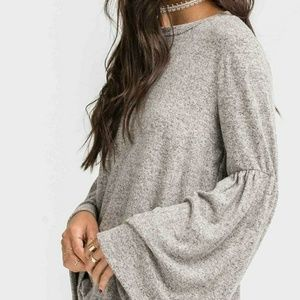 Tops - Bell sleeve sweater top
